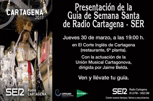 """Semana Santa Cartagena """"Paso a Paso"""" 2017"""