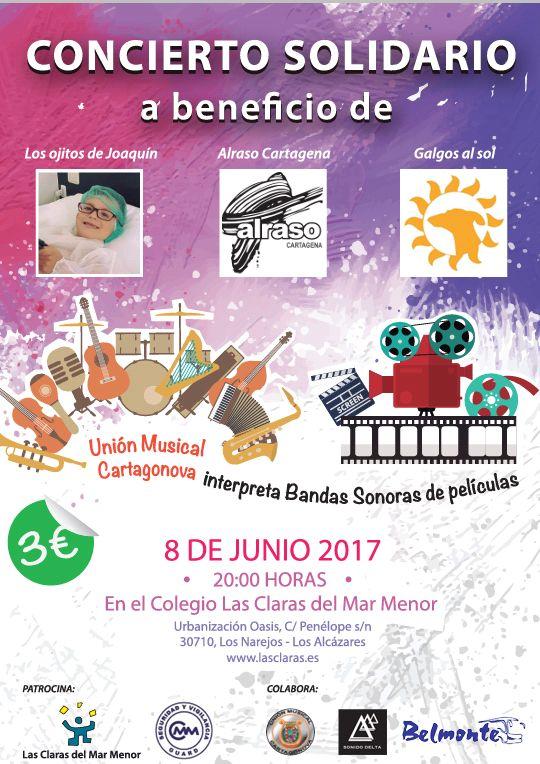 Concierto solidario Las Claras