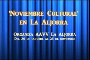Noviembre cultural la aljorra 2018 2