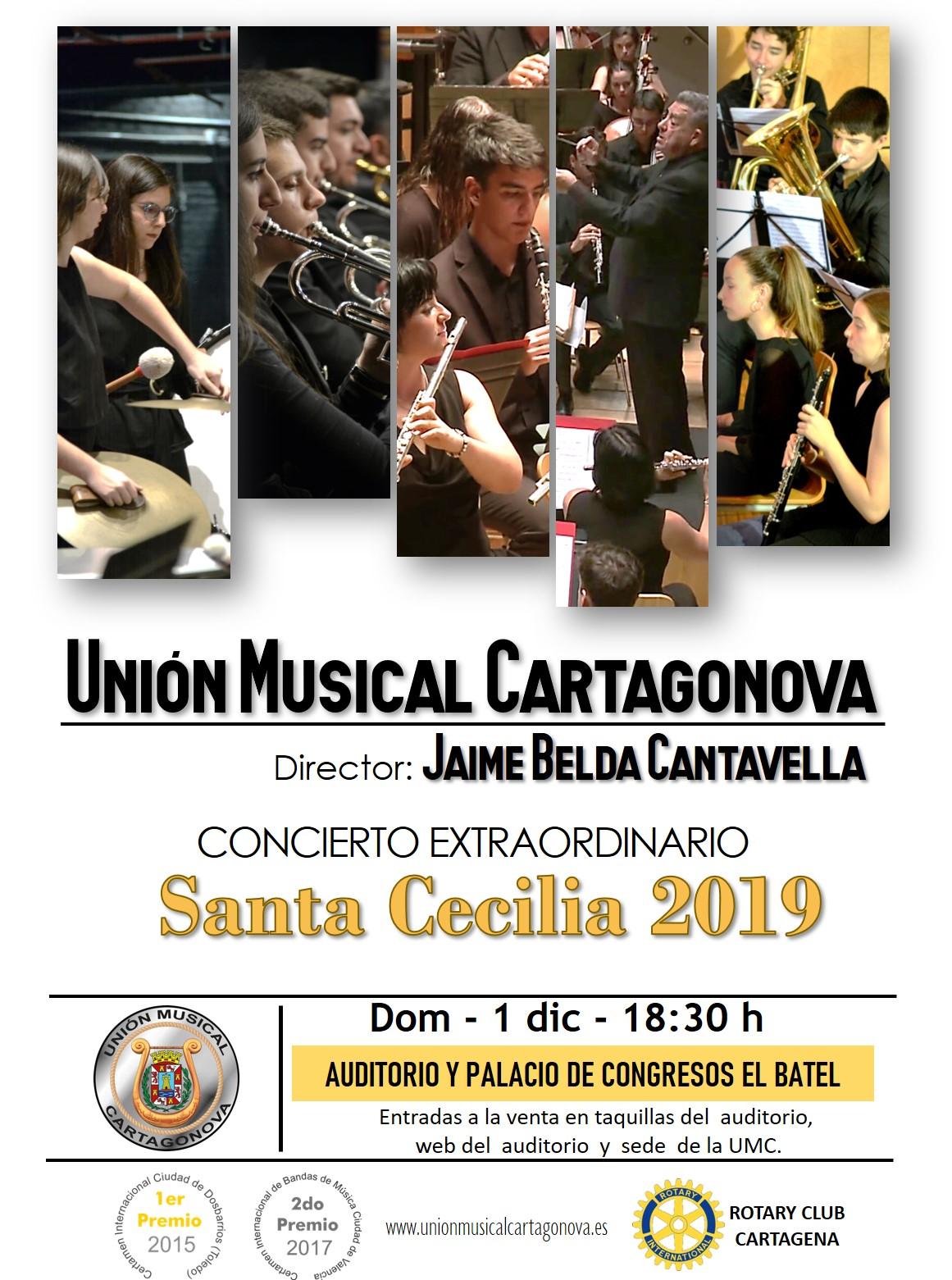 Cartel Sta Cecilia 2019