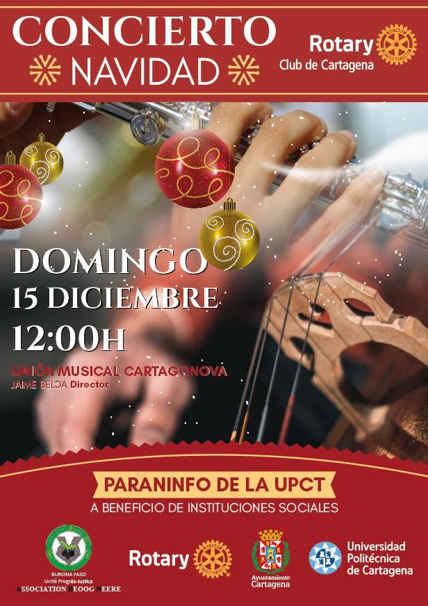 Concierto Navidad Rotary 2019