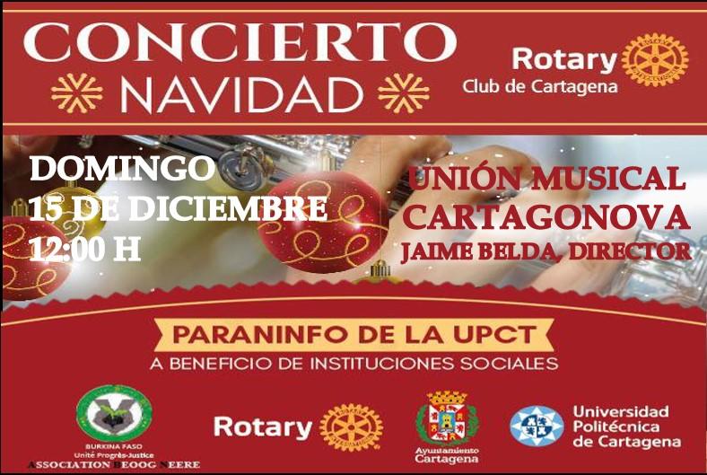 Concierto Solidario Rotary Cartagena 2019