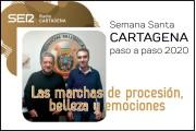 Jaime Belda y J Manuel Nadal. Cartagena paso a paso 2020