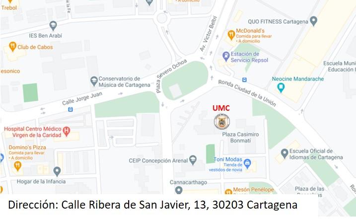 Plano situacion Carmen Conde