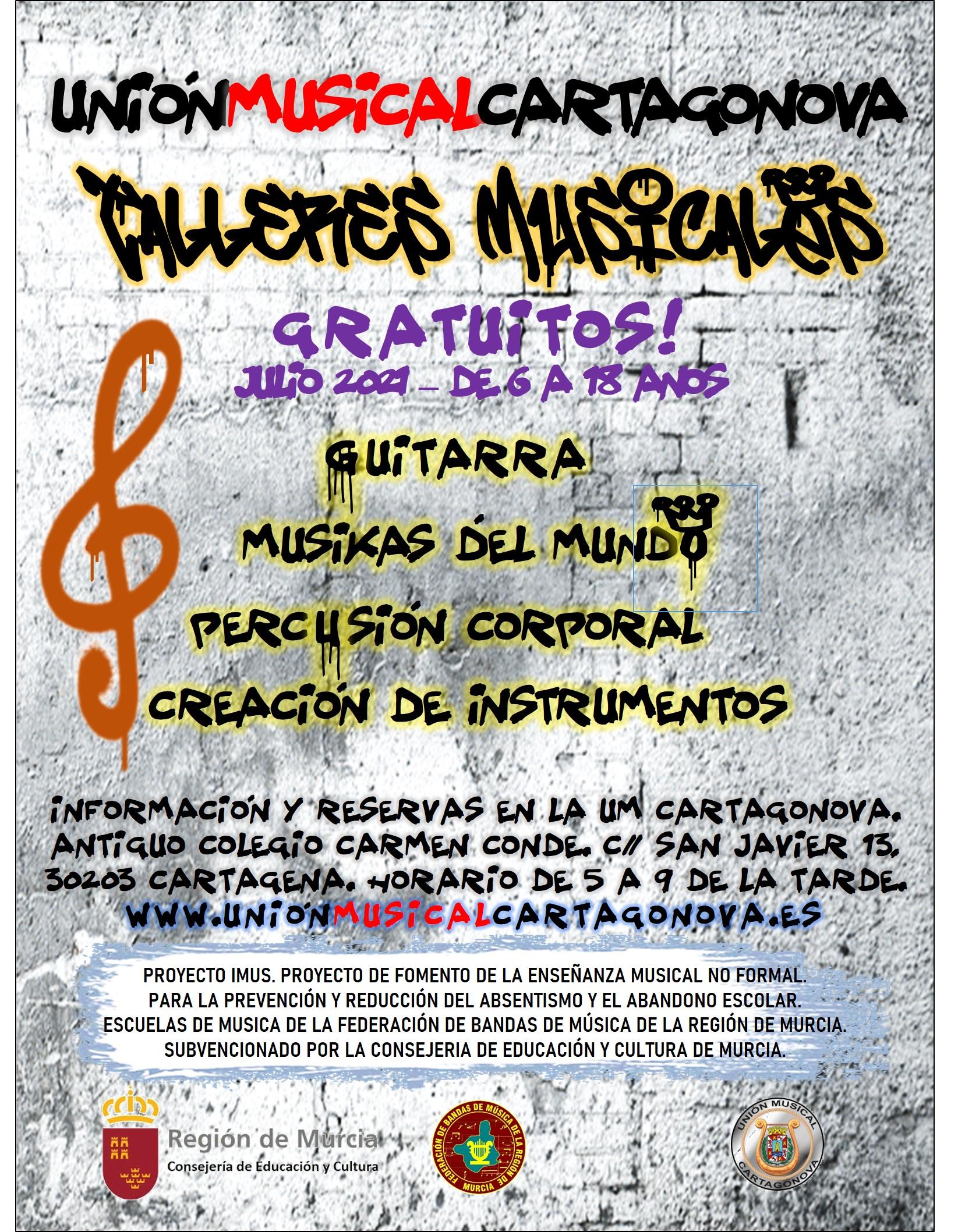 Cartel Talleres Musicales