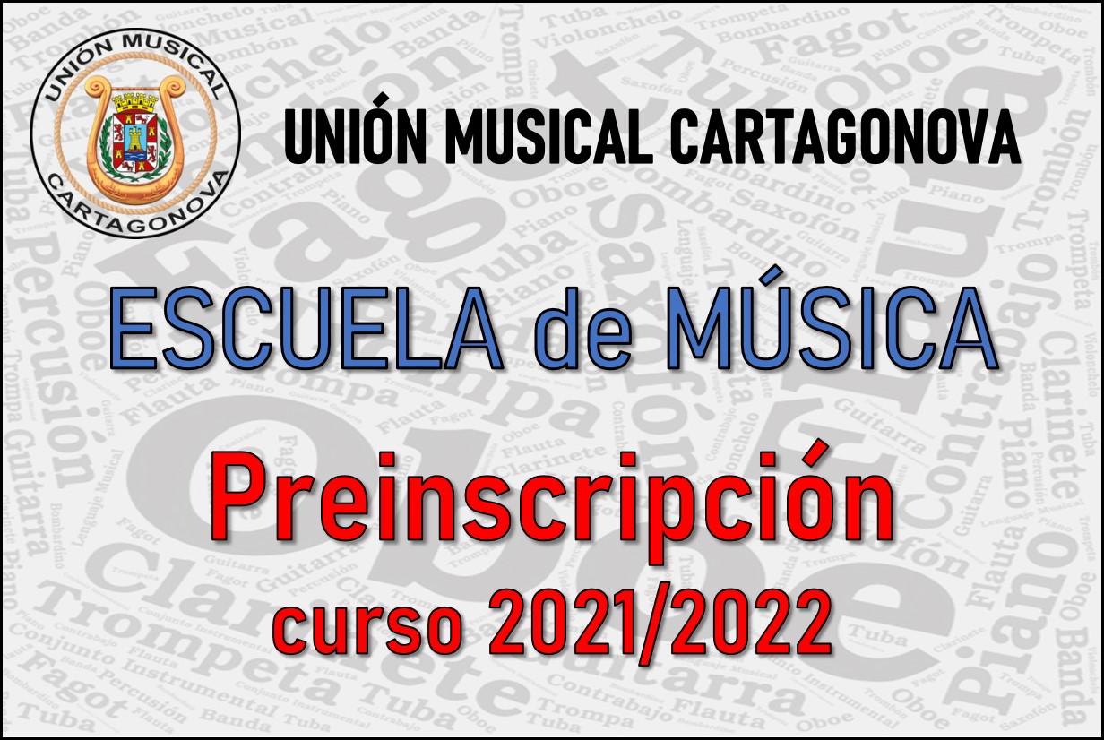 Preinscripción escuela música